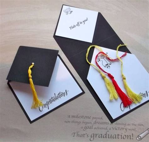 Handmade Graduation Invitations - 17 best ideas about graduation cards handmade on