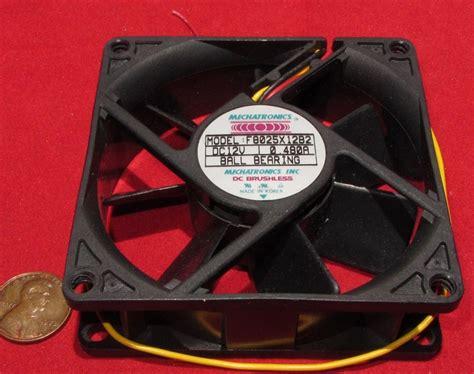 Jual Fan Dc 12v mechatronics 12v dc cooling fan 80mm 51cfm f8025x12b2