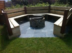 Firepit Seating Patios And Decking Garden Maintenance And Landscaping Country Garden Croyde