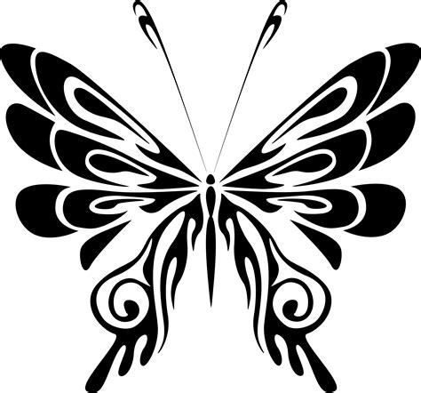 clipart butterfly line art 18