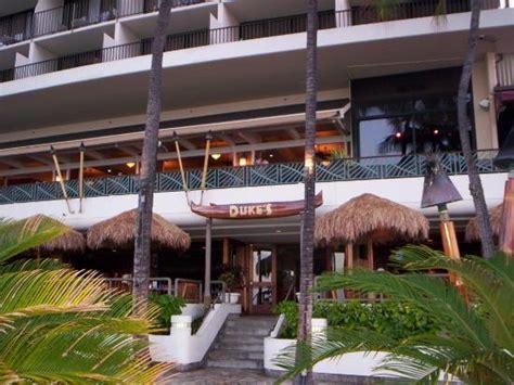 Entrance From Beach And Barefoot Bar Picture Of Duke S Waikiki Buffet Restaurants