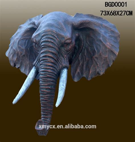 Home Decoration Statues Elephant Hanging Wall Decor Home Decor Collection Statue Figurine