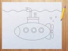 Drawing 1 Class by How To Draw Cool Submarine Step By Step For