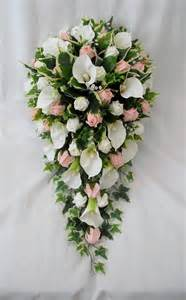 artificial wedding bouquets bouquet artificial wedding flowers bouquets brides bouquet cala lilies and ivory roses