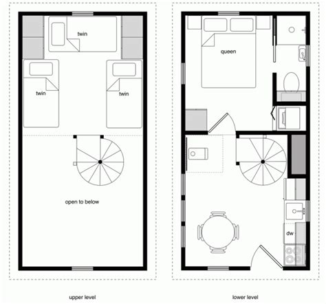 3 Story Tiny House Plans House Floor Plans 12x24 Archives Tiny House Design