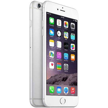 talk prepaid apple iphone 6 plus 16gb silver walmart