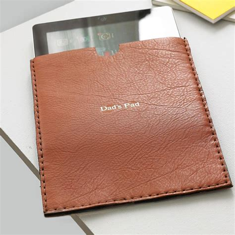 Handmade Leather Cases - handmade leather for by parkin lewis