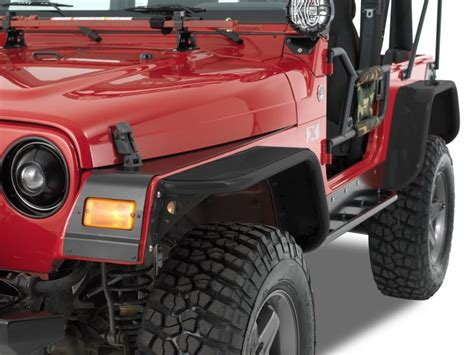 Jeep Tj Fenders Warrior Products Flare Kit For 97 06 Jeep 174 Wrangler