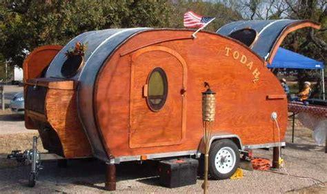 retro teardrop cer for sale 07 teardrop trailer woody rv for sale