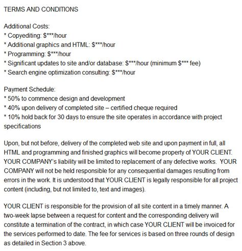 Graphic Design Freelance Contract Template