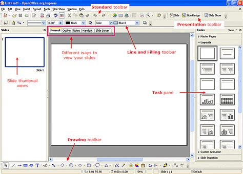 tutorial powerpoint open office tutorial on how to use openoffice impress