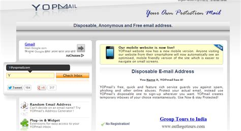 email disposable 5 online services to create disposable email addresses