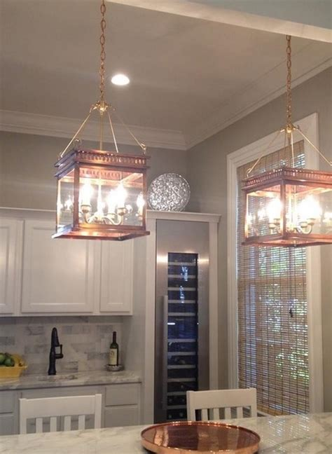 Hanging Lantern Copper Lanterns Traditional Kitchen Lantern Pendant Lights For Kitchen