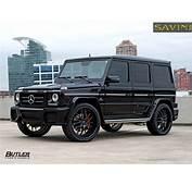 Mercedes Benz G63  Savini Wheels SV39 Butler Tire