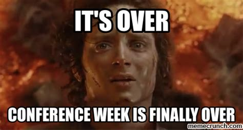 We Are Done Meme - so long nca15