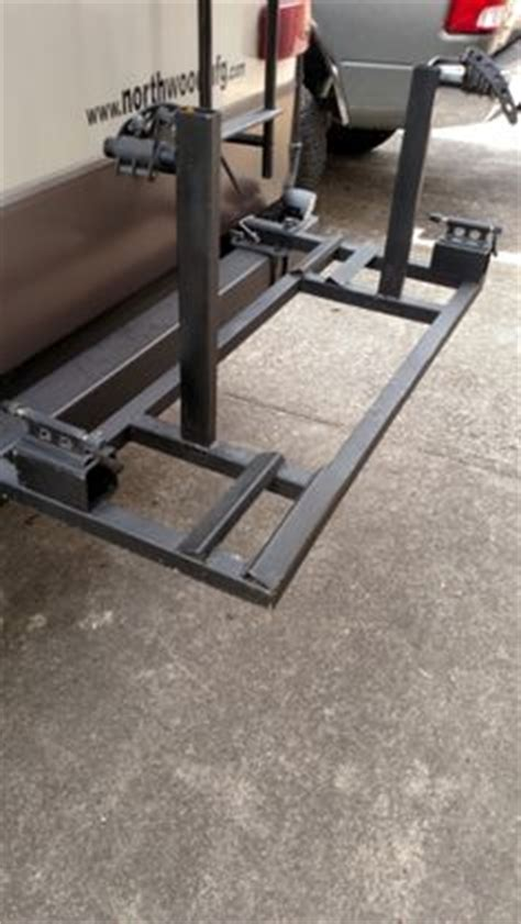 custom bike rack  cargo carrier frame mount receiver camper life rv bike rack rv