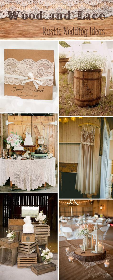 38 Most Popular Rustic & Vintage Wedding Ideas With
