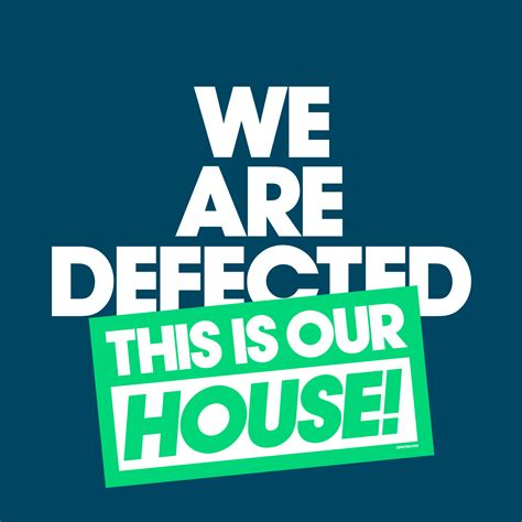 this is our house defected we are defected this is our house