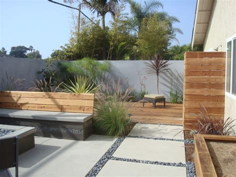modern backyard designs nathan smith landscape design modern patio san diego
