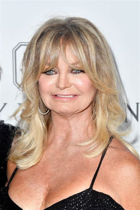 Goldie Hawn Hairstyles by Goldie Hawn Wavy Cut With Bangs Goldie Hawn Looks