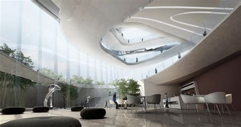design concept for museum dalian museum competition design by 10 design