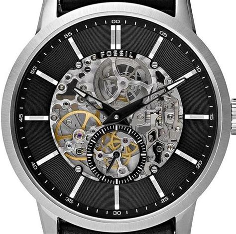 Men S Watches Fossil Skeleton Automatic Mens Watch Was