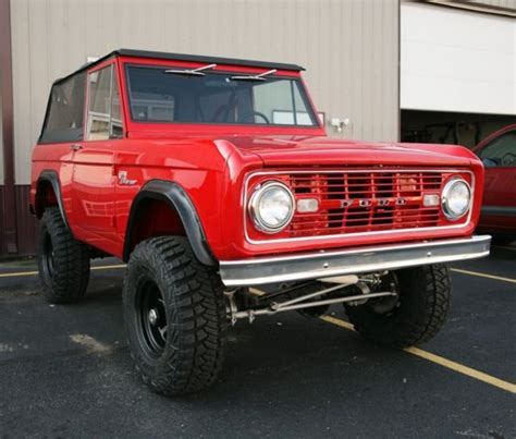 66 77 Ford Bronco For Sale 66 77 Ford Bronco Custom Builds For Sale Photos