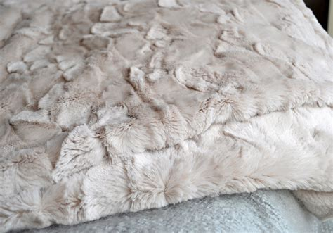 faux fur bed throw faux fur throws throws blankets natural bed company