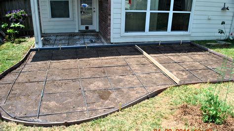 Adding Pavers To Concrete Patio Decorative Concrete Patios And Patio Extensions