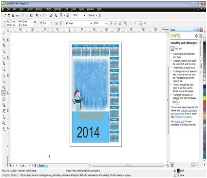 membuat x banner dengan corel draw x4 tutorial membuat kalender dengan coreldraw x4 kursus
