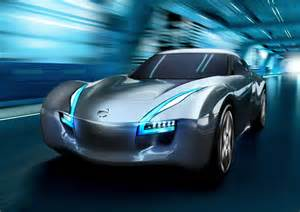 video of nissan esflow ev sports car concept the sports
