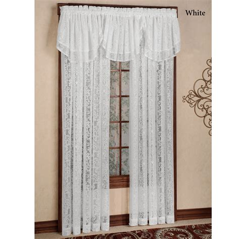 damask lace curtains mia damask lace window treatment