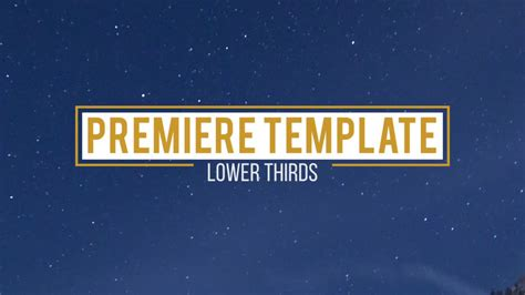 10 Lower Thirds Premiere Pro Templates Motion Array Propresenter Lower Third Templates