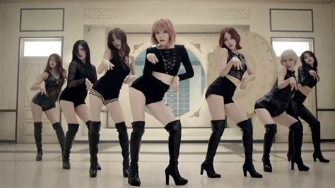 aoa miniskirt audio hd aoa turns into cat burglars in mv for quot like a cat