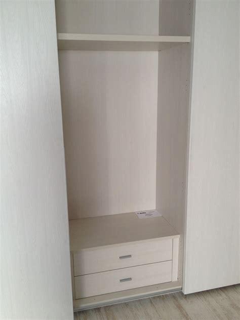 cassettiera per interno armadio armadio scorrevole santa lucia finitura olmo gesso 43