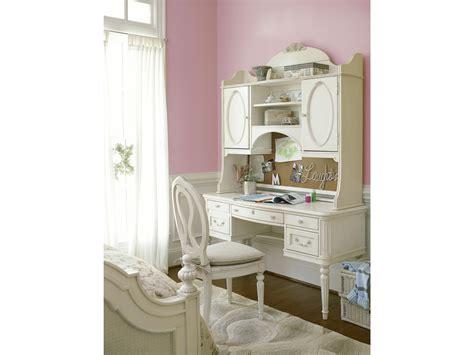 girls white desk with hutch smartstuff furniture gabriella desk hutch
