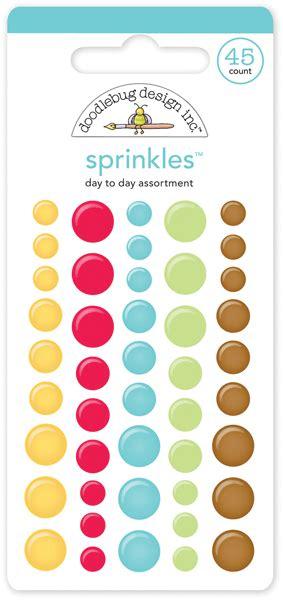 doodlebug enamel dots doodlebug design day to day collection sprinkles