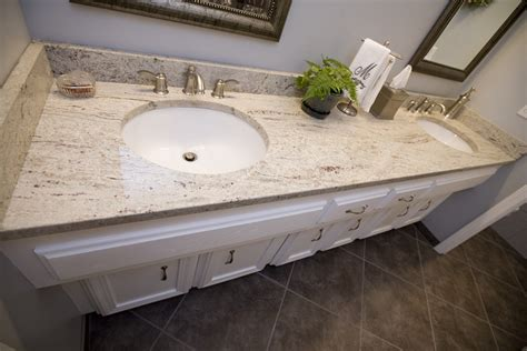 pictures of white granite bathroom countertops add luxury to your kitchen with river white granite countertop homesfeed