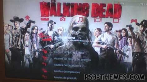 theme psp the walking dead ps3 themes 187 the walking dead 5