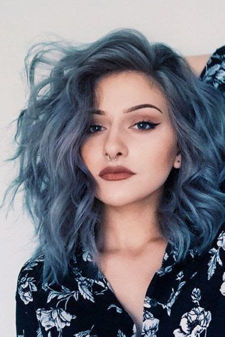Hair Color The Denim Effect Denim Blue Hair Colors You Ll