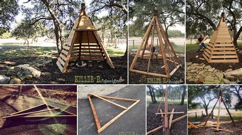Log Cabin House Plans With Photos by Diy Cedar Play Teepee Home Design Garden Amp Architecture