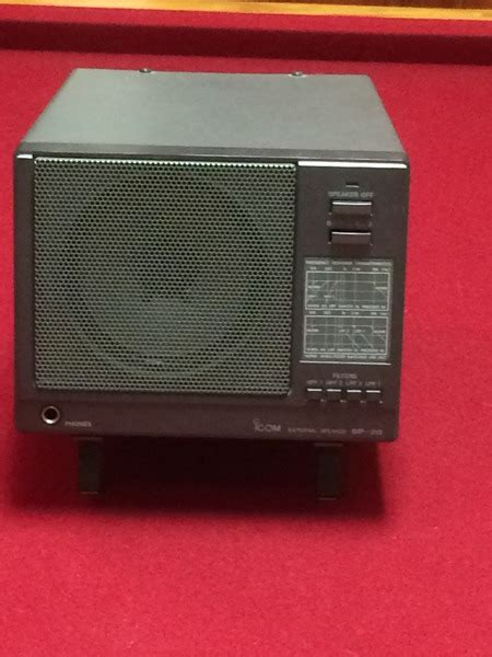 Speaker Icom Sp5 Original Icom eham net classifieds icom sp 20 filtered speaker