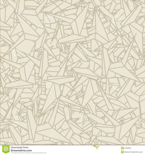 Pattern Origami Paper - pattern of schemes origami stock vector image of vector
