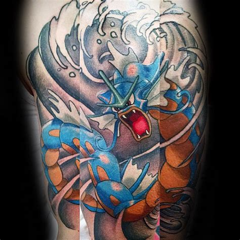 gyarados tattoo 40 gyarados designs for ink ideas
