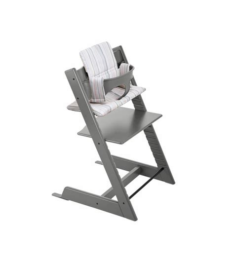 Second Stokke High Chair by Stokke Tripp Trapp High Chair In Grey