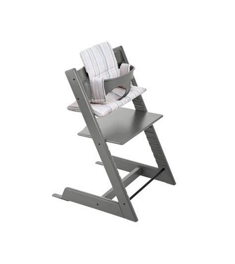 stokke tripp trapp high chair in grey