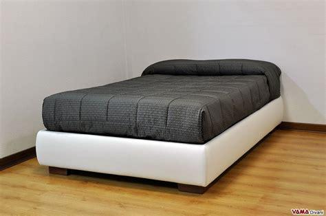 divani letto una piazza e mezzo letto con contenitore una piazza e mezza senza testata sommier