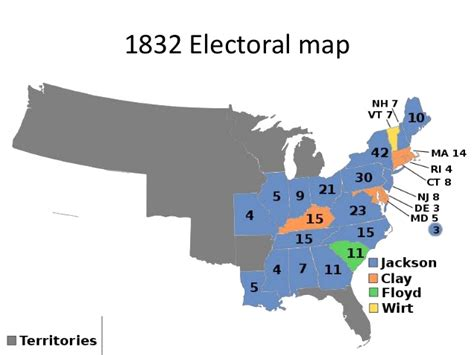 1832 election map day 8 economic issues