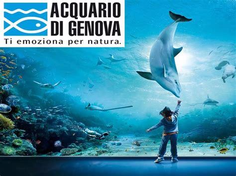 biglietto ingresso acquario genova acquario di genova