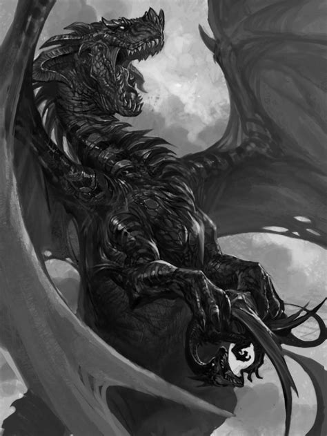 17 Best ideas about Shadow Dragon on Pinterest   Fantasy